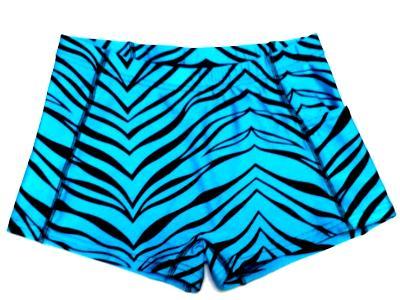 Turquoise Zebra Spanky