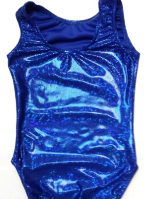 Royal Shatterglass Gymnastics and Dance Leotard