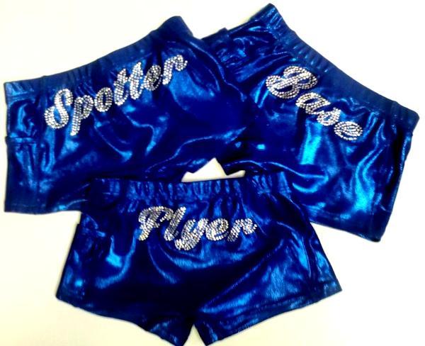 iCupid shorts, spandex shorts, cheer shorts