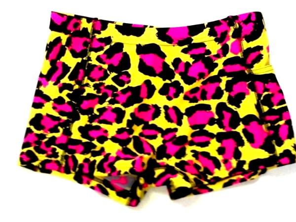 Crazy Leopard Icupid Shorts with Pocket
