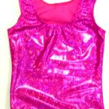 Pink Shatterglass Gymnastics and Dance Leotard