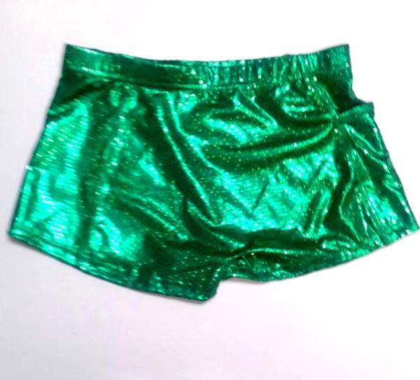 a34a789a08 ULTIMATE SPARKLE Kelly Green Metallic Mystique   Sequins Briefs ...