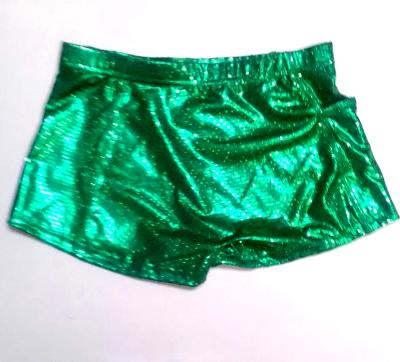 ULTIMATE SPARKLE Kelly Green Metallic Mystique & Sequins Briefs