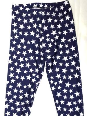 iCupid Capris Navy with Stars