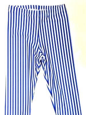 Royal Pencil Stripe Capris