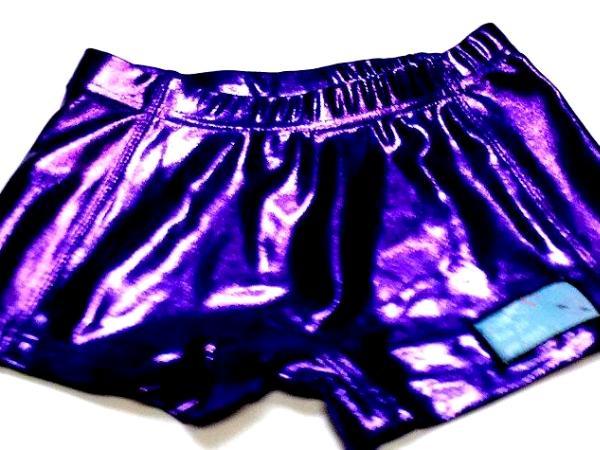 Metallic Mystique Purple Cheer Boy Cut Brief