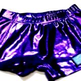 Metallic Mystique Purple Cheer Boy Cut Brief