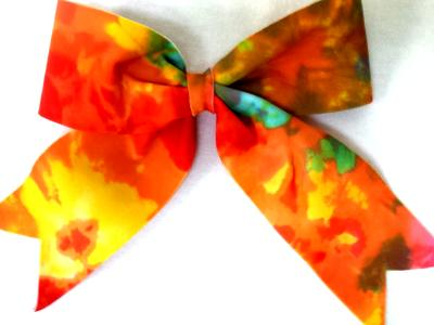 Tie Dye Matching Bow