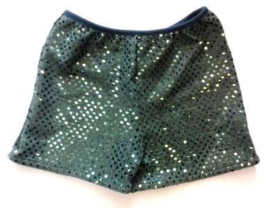 Hunter Sequin Boy Cut Spankies