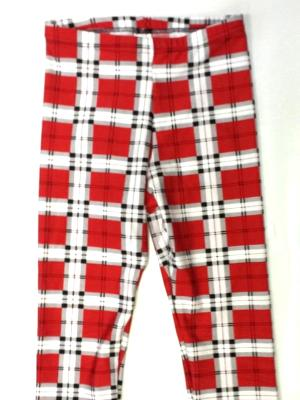 Red Plaid Capris