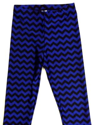 Capri Royal and Black Chevron