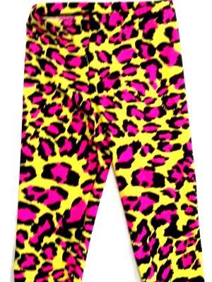 Crazy Leopard Capris