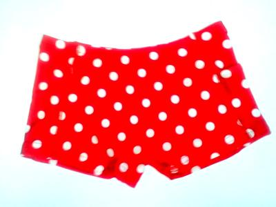 iCupid Crazy Dots White on Red